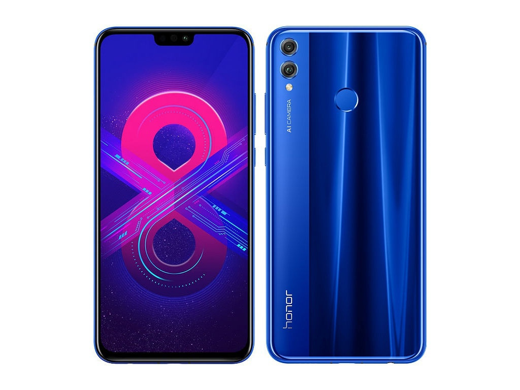 Сотовый телефон Honor 8X 4/64GB Blue