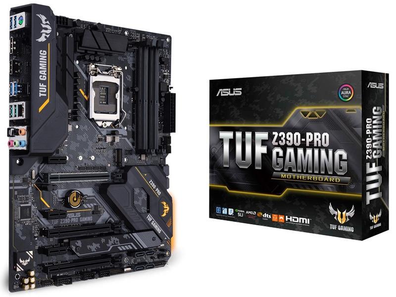 Материнская плата ASUS TUF Z390-PRO Gaming asus tuf gaming h5 lite 90yh0125 b1ua00