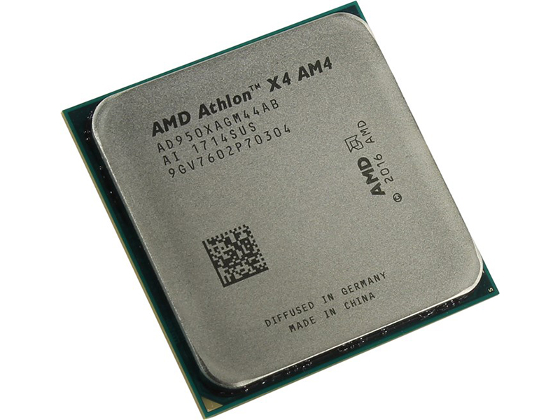 Процессор AMD Athlon X4 950 Bristol Ridge (3500MHz/AM4/2048Kb) AD950XAGM44AB OEM