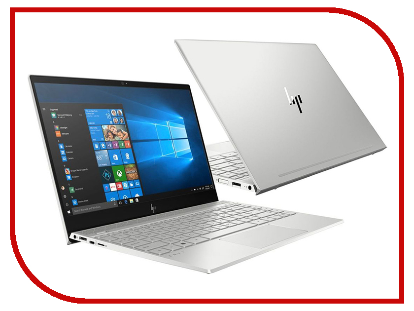 Ноутбук HP Envy 13-ah0014ur 4GV36EA Natural Silver (Intel Core i7-8550U 1.6 GHz/16384Mb/256GB SSD/No ODD/nVidia GeForce MX150 2048Mb/Wi-Fi/Cam/13.3/1920x1080/Windows 10 64-bit) ноутбук hp zbook 15u g4 y6k01ea intel core i7 7500u 2 7 ghz 16384mb 256gb ssd amd firepro w4190m 2048mb wi fi bluetooth cam 15 6 1920x1080 windows 10 pro 64 bit