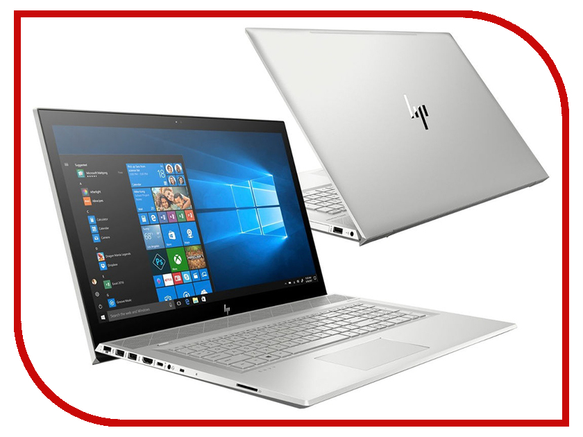 Ноутбук HP Envy 17-bw0003ur 4GR89EA Natural Silver (Intel Core i7-8550U 1.8 GHz/12288Mb/1000Gb + 128Gb SSD/DVD-RW/nVidia GeForce MX150 4096Mb/Wi-Fi/Cam/17.3/1920x1080/Windows 10 64-bit) ноутбук acer aspire a517 51g 810t nx gsxer 006 black intel core i7 8550u 1 8 ghz 12288mb 1000gb 128gb ssd nvidia geforce mx150 2048mb wi fi cam 17 3 1920x1080 windows 10 64 bit