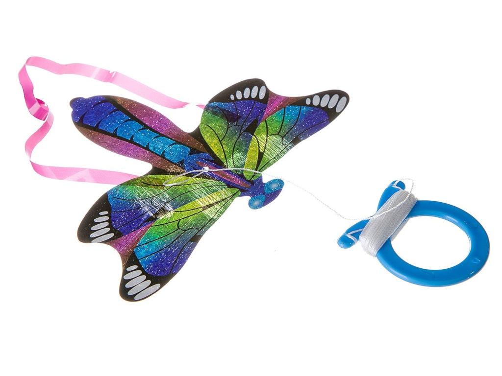 все цены на Воздушный змей мини Bondibon Чудики Полёт Стрекоза ВВ2495 онлайн