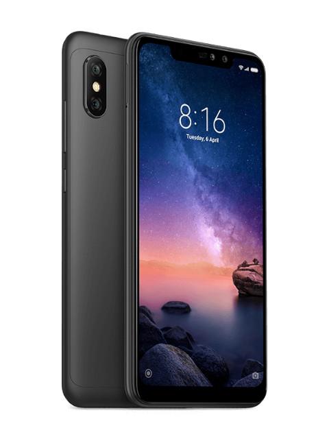 Сотовый телефон Xiaomi Redmi Note 6 Pro 4/64GB Black сотовый телефон xiaomi redmi note 5 3 32gb black