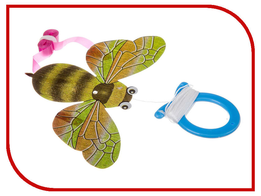 Фото - Игрушка Bondibon Чудики Воздушный змей Мини Полёт Пчела ВВ2494 игрушка антистресс bondibon чудики мякиш рыба еж вв3035