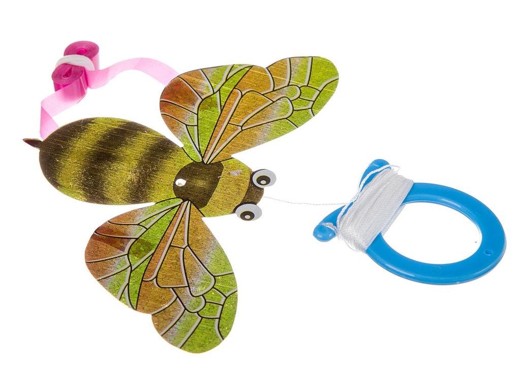 все цены на Воздушный змей мини Bondibon Чудики Полёт Пчела ВВ2494 онлайн