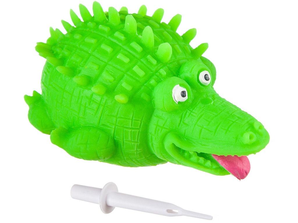 Шар надувной Bondibon Чудики Летящие Животные Крокодил ВВ2489