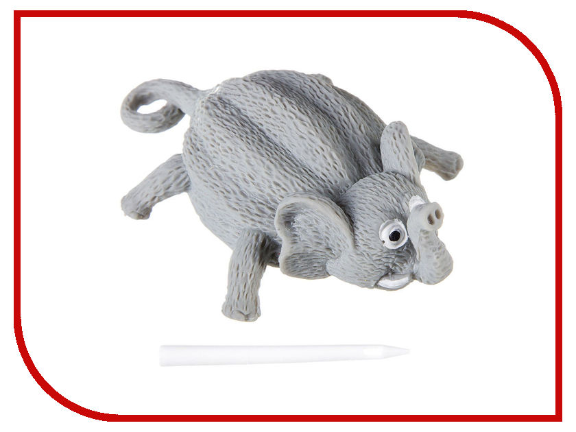 Шар надувной Bondibon Чудики Летящие Животные Слон ВВ2487 bondibon 3d картина животные