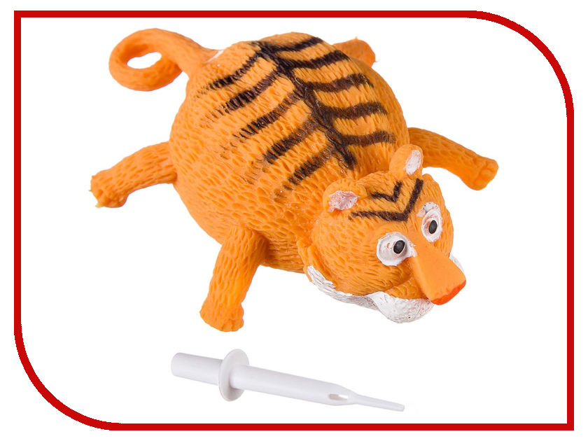 Шар надувной Bondibon Чудики Летящие Животные Тигр ВВ2484 bondibon 3d картина животные