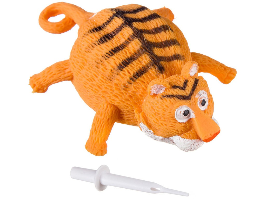 Шар надувной Bondibon Чудики Летящие Животные Тигр ВВ2484