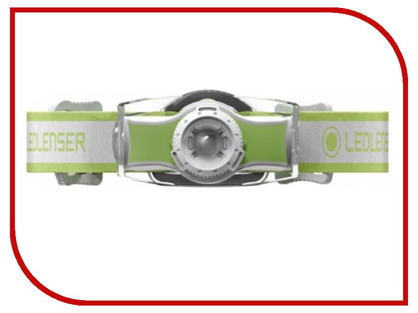 Фонарь LED Lenser MH5 Green 501952 цена 2017