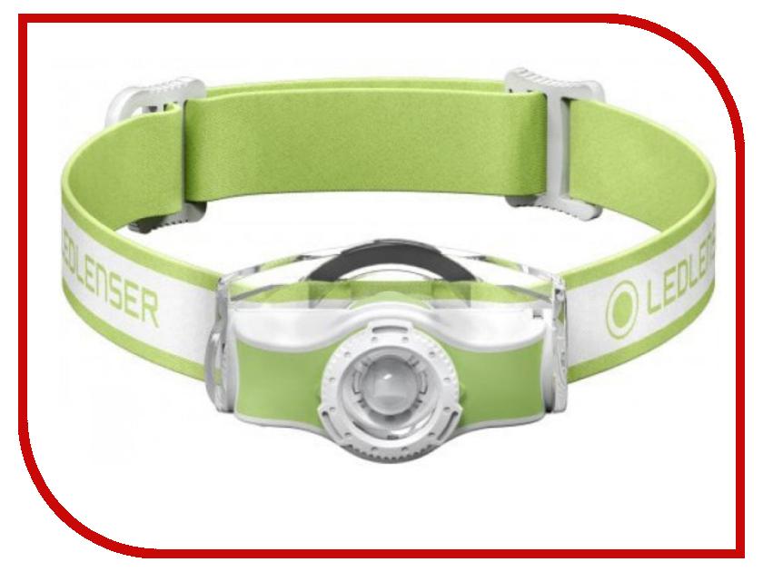 Фонарь LED Lenser MH3 Green 501593 фонарь led lenser p2 bm 8402 светодиодный черный