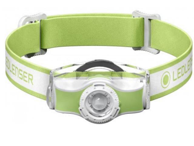 Фонарь LED Lenser MH3 Green 501593 фонарь led lenser mh3 green 501593