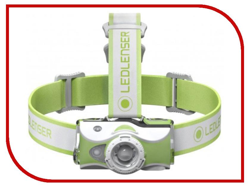 Фонарь LED Lenser MH7 Green 500991 фонарь led lenser p7 2n 1200