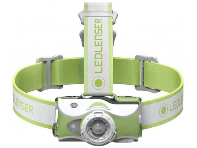 Фонарь LED Lenser MH7 Green 500991 фонарь led lenser mh3 green 501593