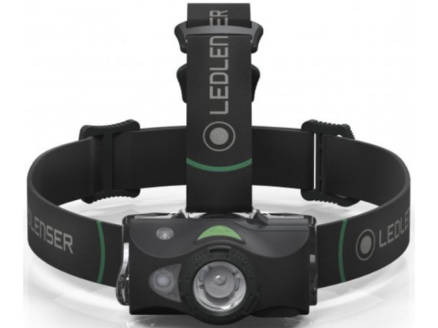 Фонарь LED Lenser MH8 Black 500972