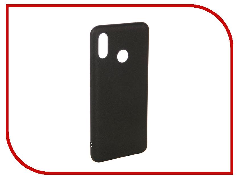 Аксессуар Чехол для Huawei Nova 3 X-Level Guardian Series Black 2828-179 аксессуар чехол для honor 9 x level guardian series black 2828 095