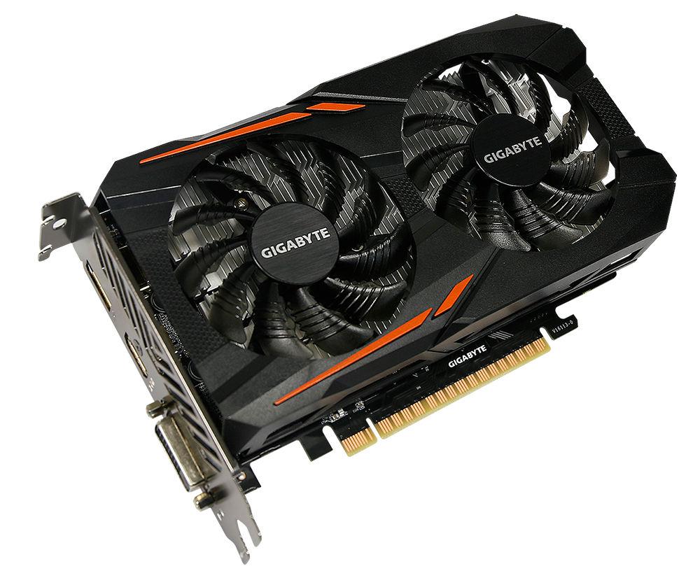 Видеокарта GigaByte GeForce GTX 1050 Ti 1316Mhz PCI-E 3.0 4096Mb 7008Mhz 128 bit DVI HDMI HDCP OC GV-N105TOC-4GD Выгодный набор + серт. 200Р!!!