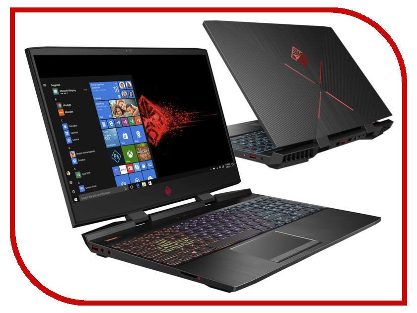 Ноутбук HP Omen 15-dc0016ur 4HC72EA Shadow Black (Intel Core i7-8750H 2.2 GHz/16384Mb/1000Gb + 128Gb SSD/No ODD/nVidia GeForce GTX 1050 Ti 4096Mb/Wi-Fi/Bluetooth/Cam/15.6/1920x1080/Windows 10 64-bit) цена