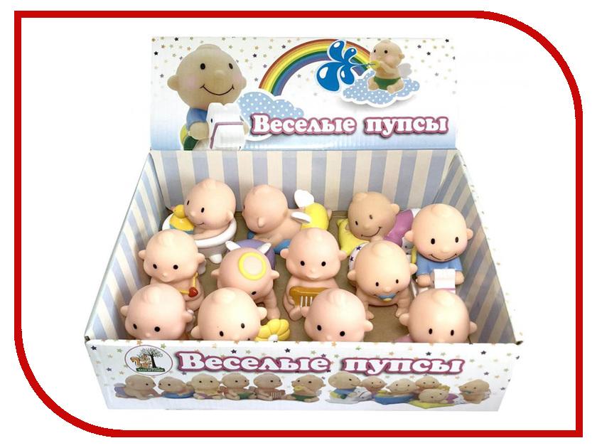 Игрушка База игрушек Веселые пупсы 12шт 4660007763351 лабиринт деревянный база игрушек model 1шт