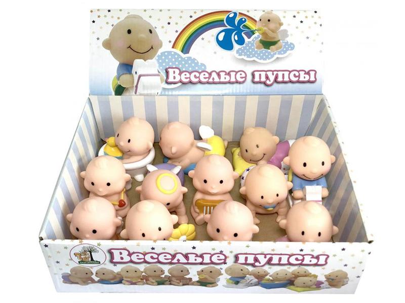 Игрушка База игрушек Веселые пупсы 12шт 4660007763351