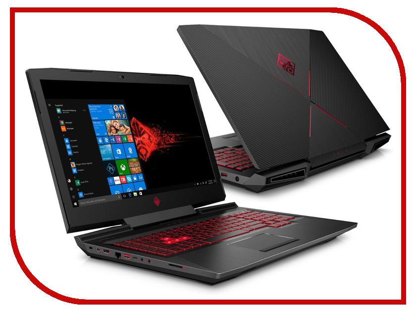Ноутбук HP Omen 17-an104ur 4GR79EA Shadow Black (Intel Core i7-8750H 2.2 GHz/16384Mb/1000Gb + 256Gb SSD/nVidia GeForce GTX 1070 8192Mb/Wi-Fi/Cam/17.3/1920x1080/Windows 10 64-bit) ноутбук msi gt72vr 7re 612ru dominator pro dragon 17 3 led core i7 7700hq 2800mhz 16384mb hdd ssd 1000gb nvidia geforce® gtx 1070 8192mb ms windows 10 home 64 bit [9s7 178554 612] page 5