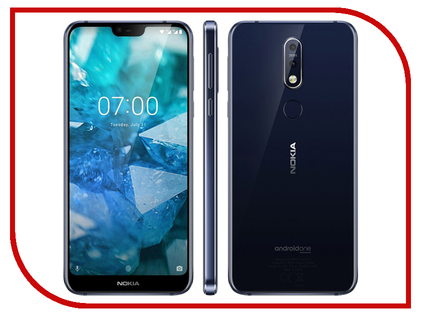 Сотовый телефон Nokia 7.1 32GB Indigo nokia 230 dark silver