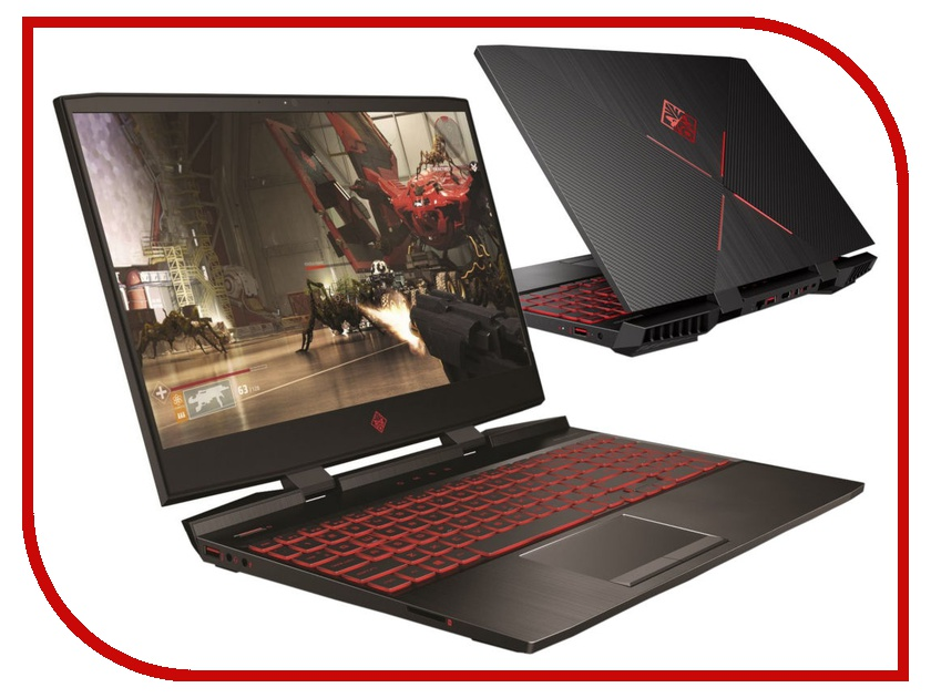 Ноутбук HP Omen 15-dc0020ur 4HC76EA Shadow Black (Intel Core i5-8300H 2.3 GHz/8192Mb/1000Gb + 128Gb SSD/No ODD/nVidia GeForce GTX 1050 2048Mb/Wi-Fi/Bluetooth/Cam/15.6/1920x1080/DOS) цена
