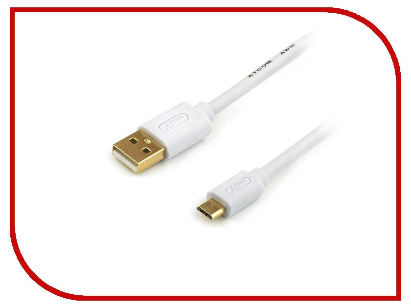 Аксессуар ATcom USB AM - Micro USB 0.8m АТ9074 контроллер atcom pci usb at7803