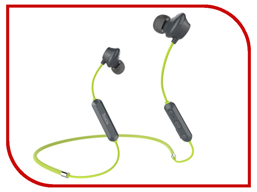HOCO Bluetooth ES17 Green original hoco epb04 universal business wireless bluetooth v4 1 headphone earphone