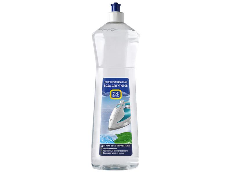 Деионизированная вода для утюгов с отпаривателем Top House 4660003391268