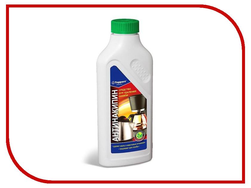 Аксессуар Средство для удаления накипи в водонагревательных приборах Topperr 500ml 3032 аксессуар кримпер rexant ht 202b tl 202b 12 3032