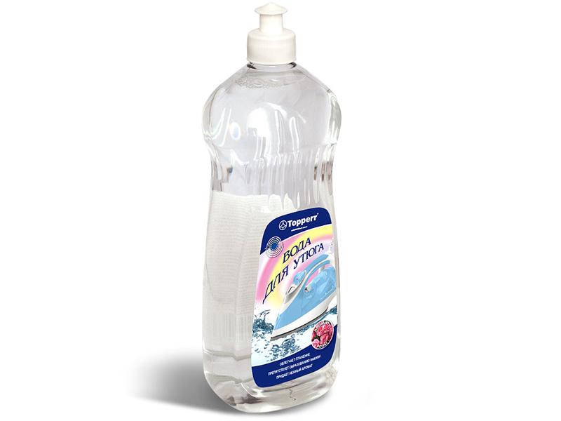 Вода для утюга парфюмированная Topperr Роза 1L 3019