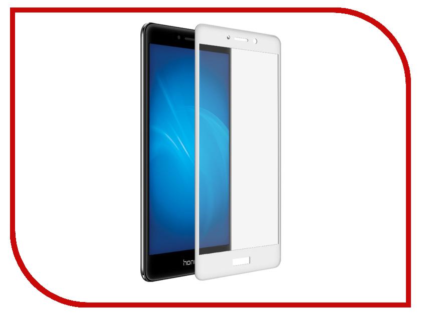 Аксессуар Противоударное стекло для Huawei Honor 6X Innovation 2D Full Glue Cover White 12698 роскошный кошелек для huawei honor 6x высококачественная кожаная флип обложка kickstand анти шок полная защита для huawei honor 6x
