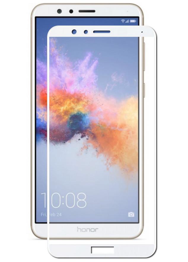 Аксессуар Противоударное стекло Innovation для Honor 7X 2D Full Glue Cover White 12695