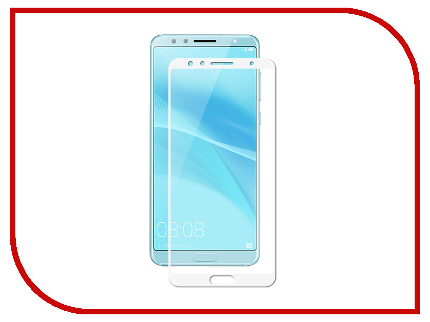 Аксессуар Противоударное стекло для Huawei Nova 2S Innovation 2D Full Glue Cover White 12712 аксессуар противоударное стекло для xiaomi redmi 4x innovation 2d full glue cover white 12721