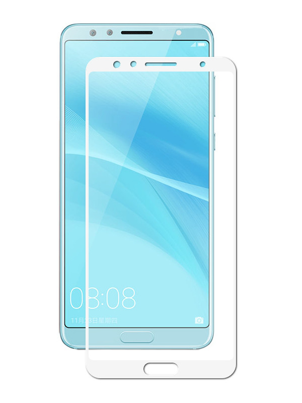Аксессуар Противоударное стекло Innovation для Huawei Nova 2S 2D Full Glue Cover White 12712