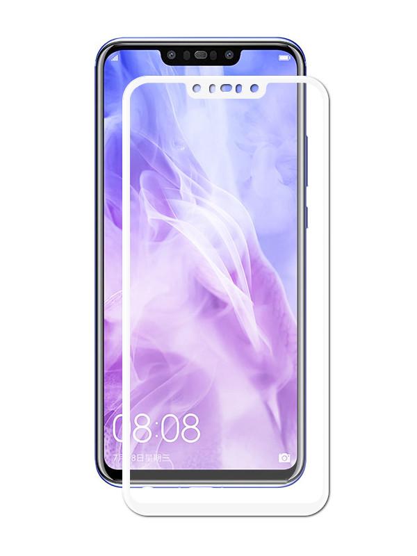 Аксессуар Противоударное стекло Innovation для Huawei Nova 3i 2D Full Glue Cover White 12718 аксессуар противоударное стекло для xiaomi mi 7 innovation 2d full glue cover white 12756