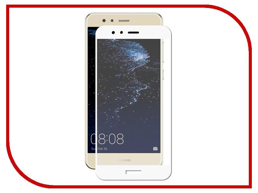 Аксессуар Противоударное стекло для Huawei P10 Lite Innovation 2D Full Glue Cover White 12661 аксессуар противоударное стекло для xiaomi mi 7 innovation 2d full glue cover white 12756