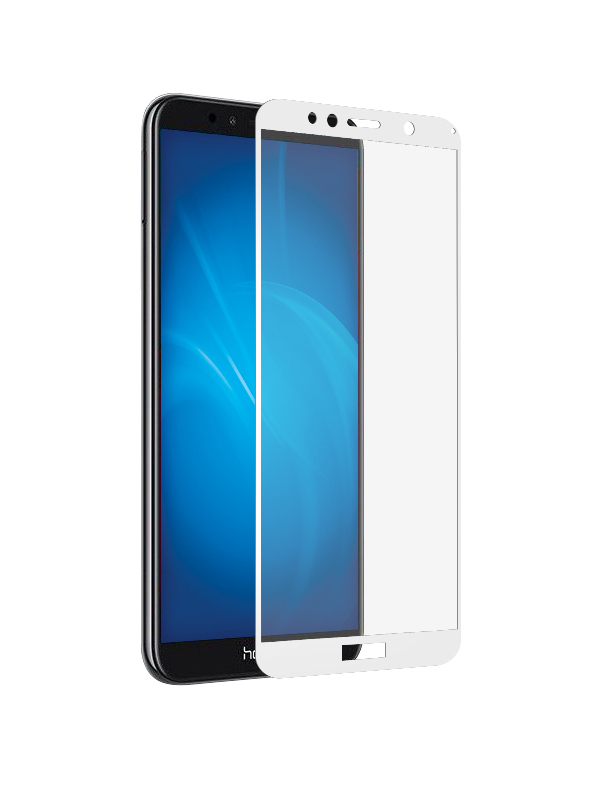Аксессуар Противоударное стекло Innovation для Huawei Y5 2018 2D Full Glue Cover White 12700