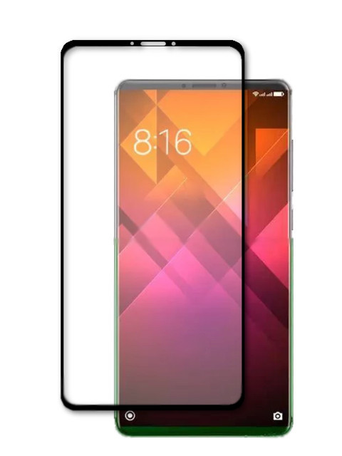 Противоударное стекло Innovation для Xiaomi Mi 7 Plus 2D Full Glue Cover Black 12760 цена и фото
