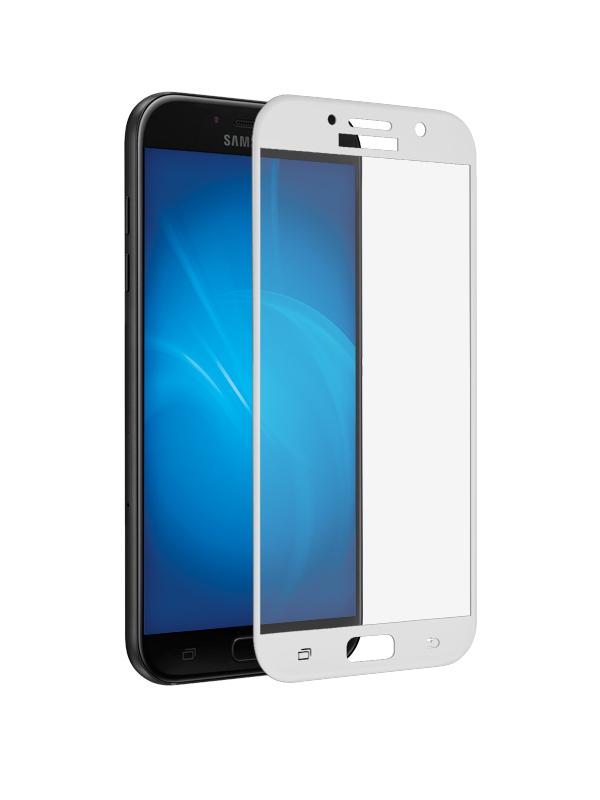 Аксессуар Защитное стекло Innovation для Samsung Galaxy A7 2017 A720 2D Full Glue Cover White 12792 автомобильный светодиодный фонарь uniel 06028 аккумуляторный 150 лм s cl010 ba blue