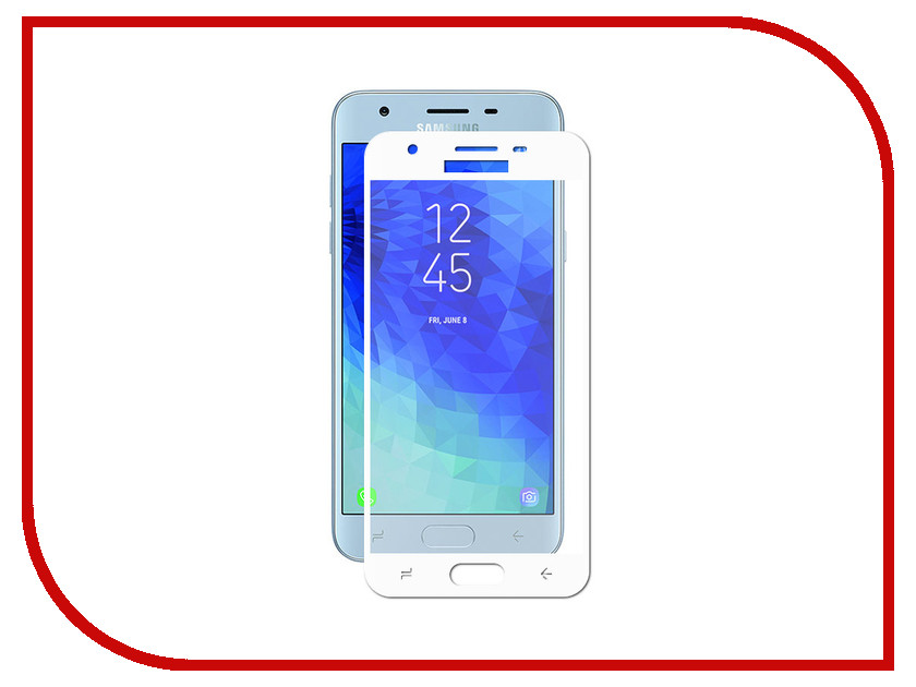 Купить Аксессуар Защитное стекло Innovation для Samsung Galaxy J3 2018 J330 2D Full Glue Cover White 12802