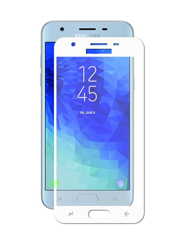 Аксессуар Защитное стекло Innovation для Samsung Galaxy J3 2018 J330 2D Full Glue Cover White 12802