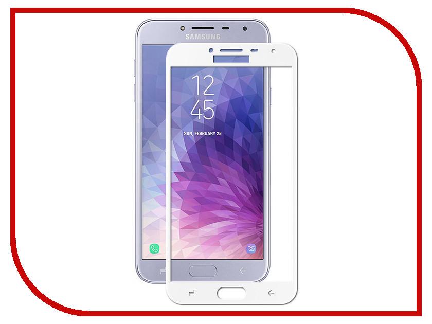 Аксессуар Противоударное стекло для Samsung Galaxy J4 2018 Innovation 2D Full Glue Cover White 12810 аксессуар противоударное стекло для samsung galaxy j4 plus 2018 innovation 2d full glue cover white 14202