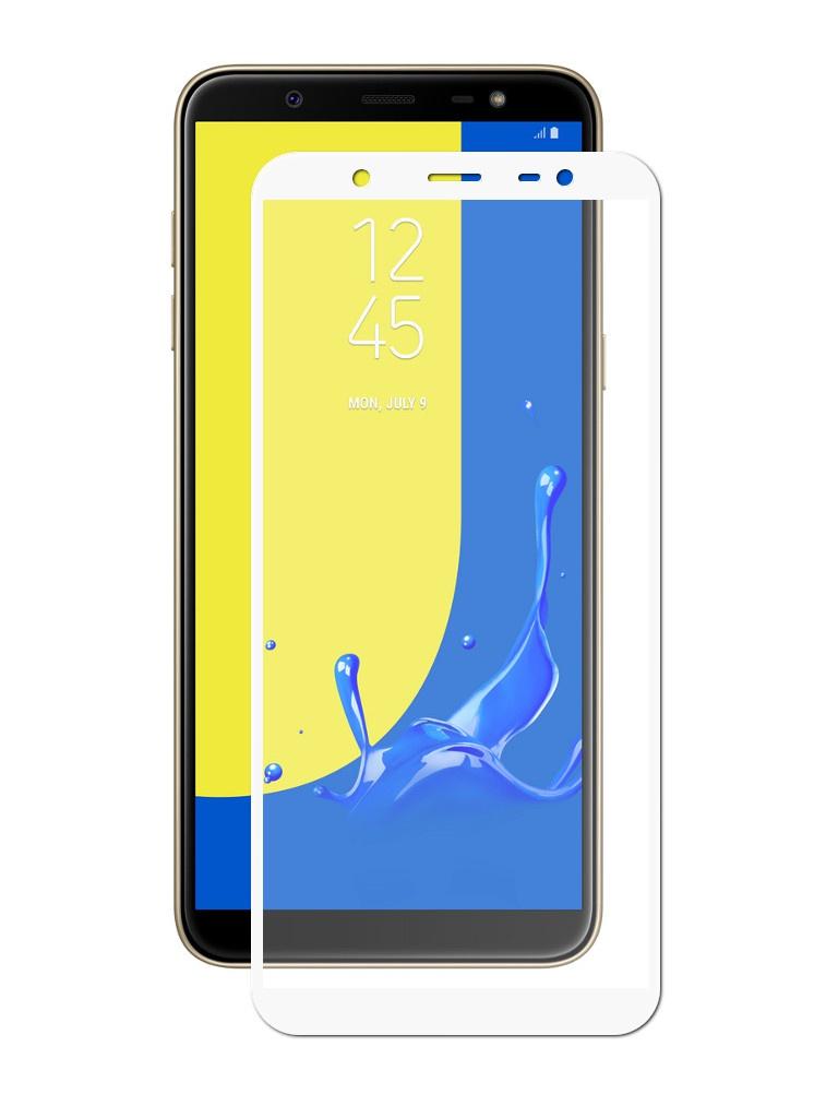 Аксессуар Защитное стекло Innovation для Samsung Galaxy J8 2018 2D Full Glue Cover White 12813