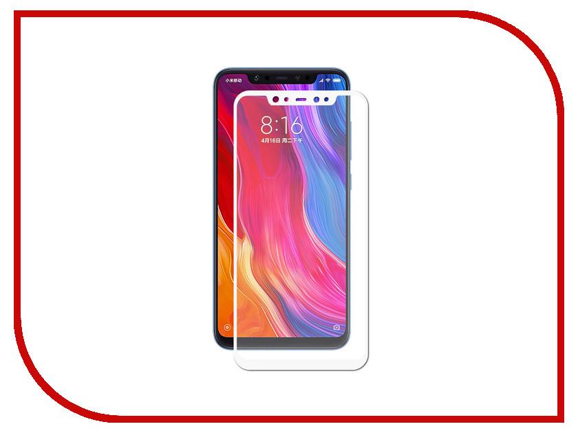 Аксессуар Противоударное стекло для Xiaomi Mi 8 Innovation 2D Full Glue Cover White 12766 аксессуар противоударное стекло для xiaomi redmi 4a innovation 2d full glue cover white 12724