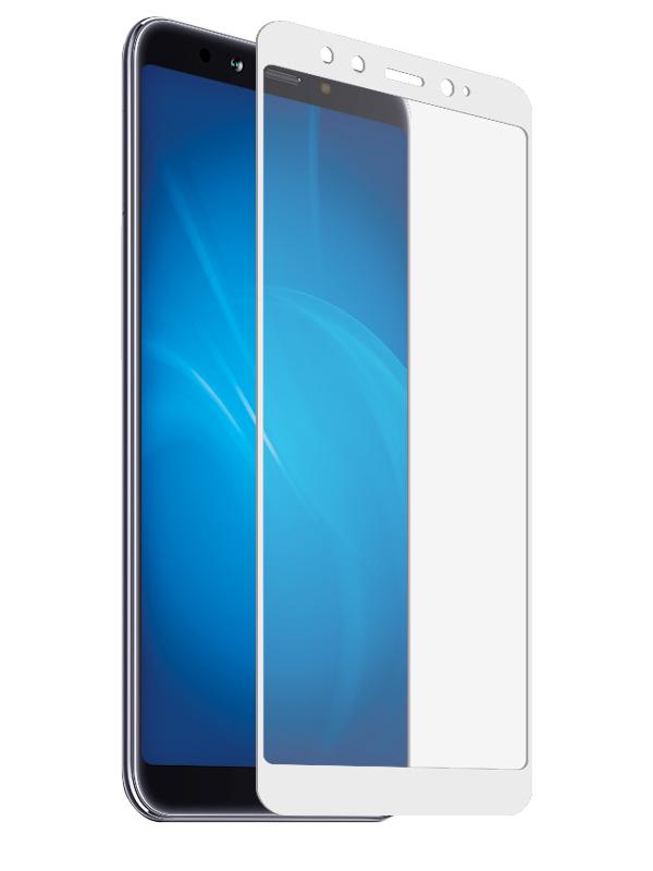 Противоударное стекло Innovation для Xiaomi Redmi 6X 2D Full Glue Cover White 12772 цена и фото