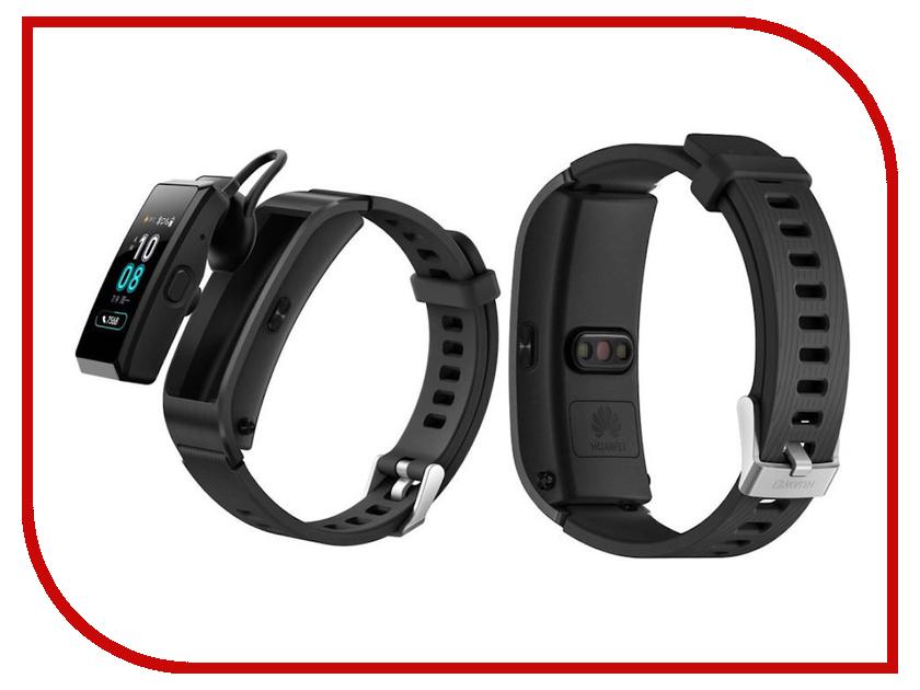 Умный браслет Huawei TalkBand B5 Active Black black active cross strap sport bra