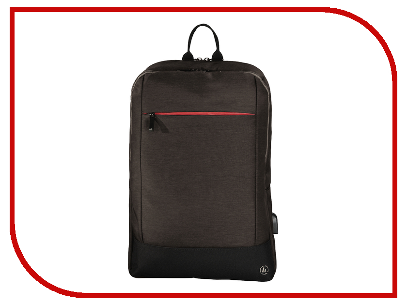 Рюкзак HAMA Manchester Notebook Backpack 17.3 Brown 101893
