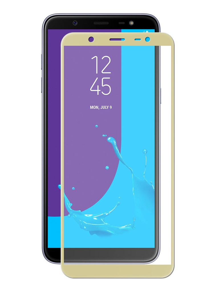 Защитное стекло Innovation для Samsung Galaxy J8 2018 2D Full Glue Cover Gold 12814